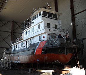 USCG Hammer at Savannah Marine Repair
