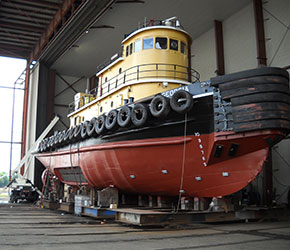 Tug georgia savannah marine repair