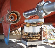 Thordon bearings Amberjack shaft and engine alignment